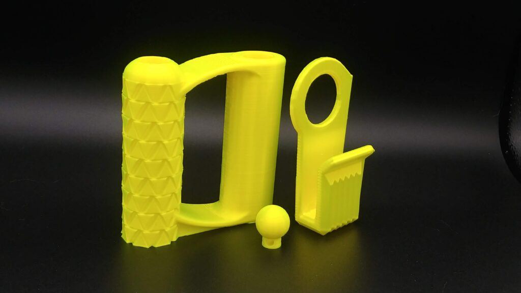 fluorescent yellow PLA set