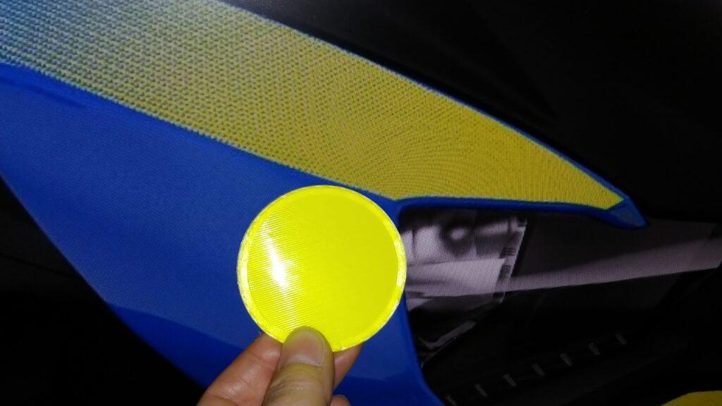 Fluorescent Yellow PLA